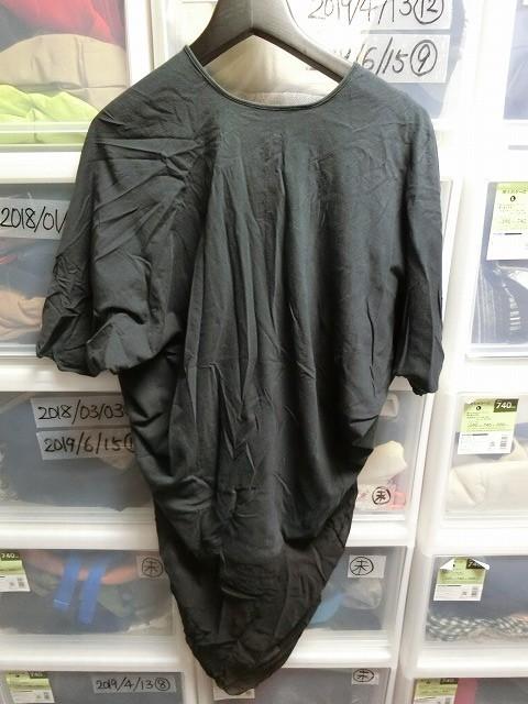 Rick Owens カットソー Tシャツ ブラック リックオウエンス_画像2