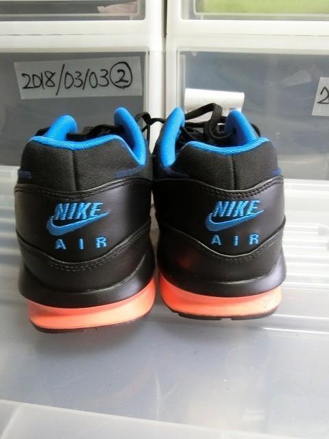 NIKE AIR MAX LUNAR 1 JCRD 29cm US11 ブラックxブルー #654467-002 エアマックスルナ1 ナイキ_画像2