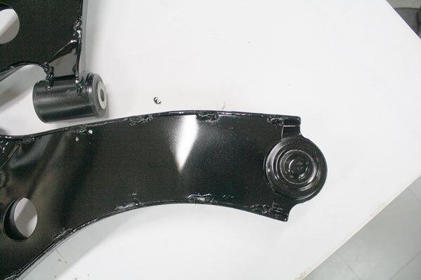税込 フロント ロアアーム 補強 済み アルト ワークス HA36S_画像4