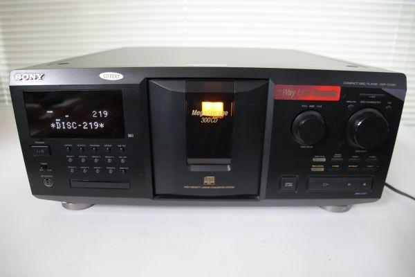 1円 Sony ソニー 【CDP-CX350】 CD Player CDプレイヤー 最落なし