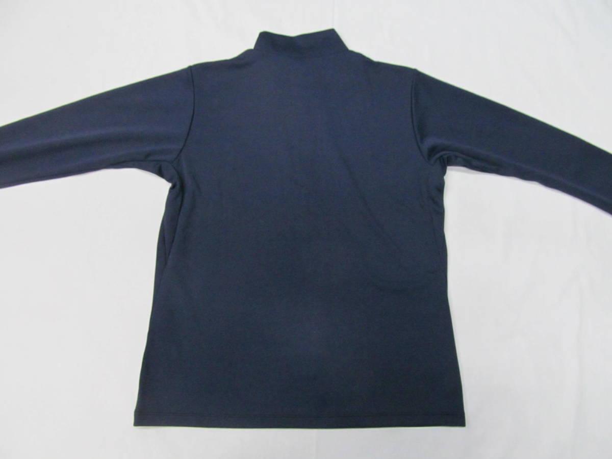 170 ミズノ ドライサイエンス レディスジップシャツM_画像4