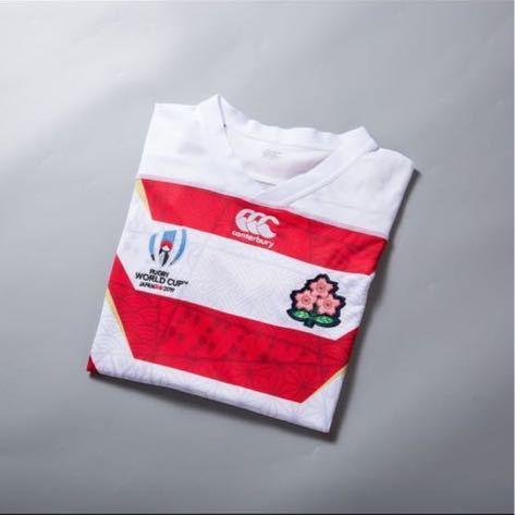 RWC2019 ラグビー日本代表 HOME 1st ユニフォーム 正規品 XLサイズ CANTERBURY カンタベリー レプリカ ラグビーワールドカップ2019 JAPAN _画像3