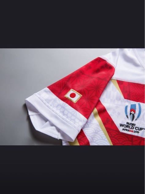RWC2019 ラグビー日本代表 HOME 1st ユニフォーム 正規品 XLサイズ CANTERBURY カンタベリー レプリカ ラグビーワールドカップ2019 JAPAN _画像5