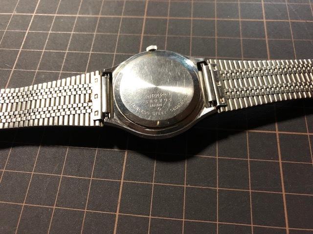 KK111 稀少 レア ヴィンテージ SEIKO/セイコー emblem エンブレム デイデイト AUTO 5606-8080 ホワイト系文字盤 自動巻 メンズ 腕時計_画像6