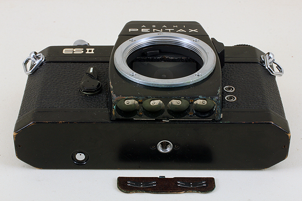 【シャッターOK♪メーター稼働♪】 ASAHI PENTAX ES II 2型 710 旭光学 アサヒ ペンタックス ELECTRO SPOTMATIC Electronic Shutter M42_画像5