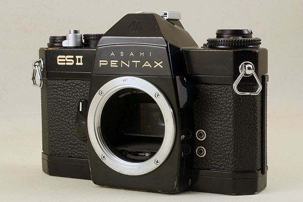 【シャッターOK♪メーター稼働♪】 ASAHI PENTAX ES II 2型 710 旭光学 アサヒ ペンタックス ELECTRO SPOTMATIC Electronic Shutter M42_画像1