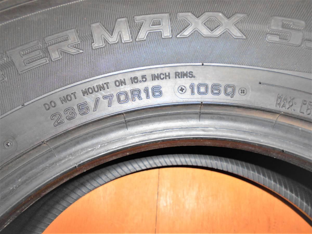 『送料一律5,000円』 DUNLOP ダンロップ WINTERMAXX SJ8 235/70R16_画像2