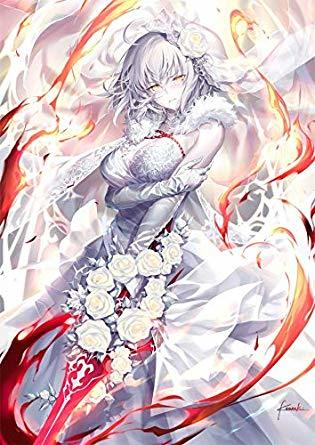 Fate/Grand Order ウェディング邪ンヌ B2タペストリー c94 GH.K 光崎 fgo B2タペストリー C97_画像1