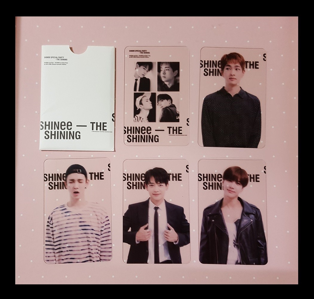 SHINee★SPECIAL PARTY★ファンミーティング★参加者限定配布★トレカ セット★1回目