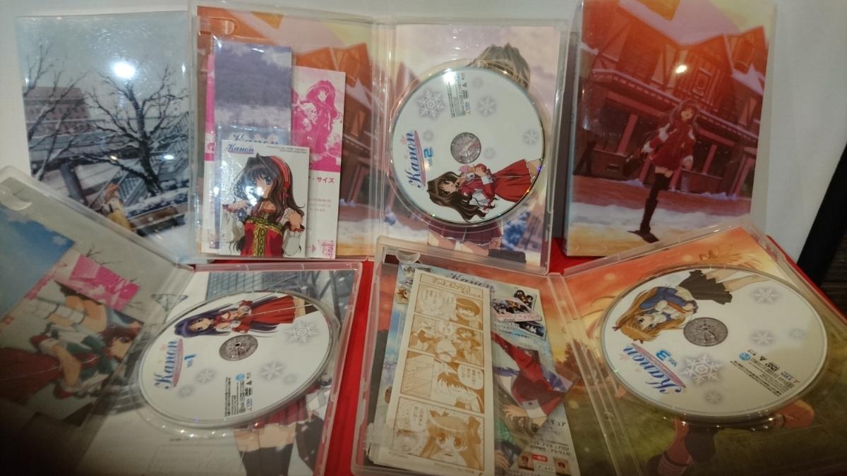 DVD カノン Kanon 1,2,3,4,8巻 京都アニメーション版 5巻セット 中古品 送料無料