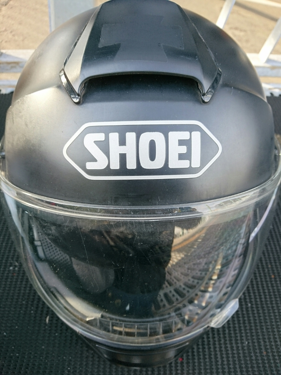 SHOEI フルフェイスヘルメット NEOTEC サイズM 送料着払い_画像1