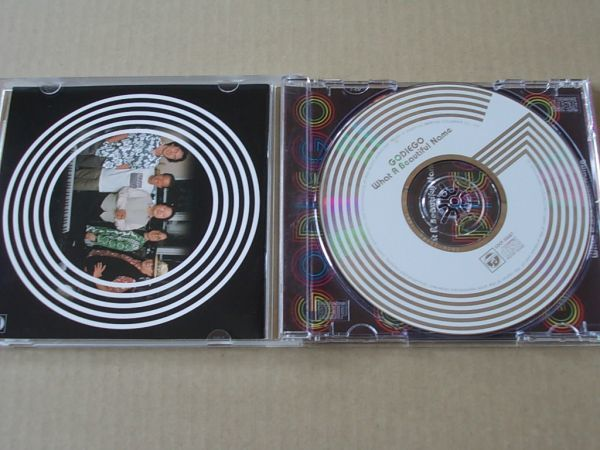 E2028 即決 CD ゴダイゴ『WHAT A BEAUTIFUL NAME』_画像2