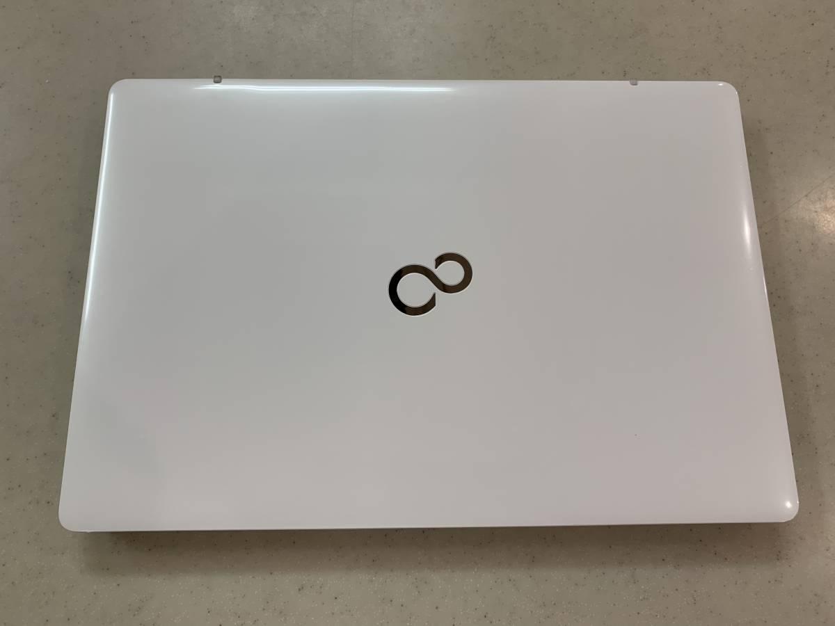 【1円~純正箱保証書付美品】富士通15.6型ノートパソコンFMV LIFEBOOK AH50/D1(Core i7/メモリ 4GB/HDD 1TB/Office H&B 2019)FMVA50D1WP