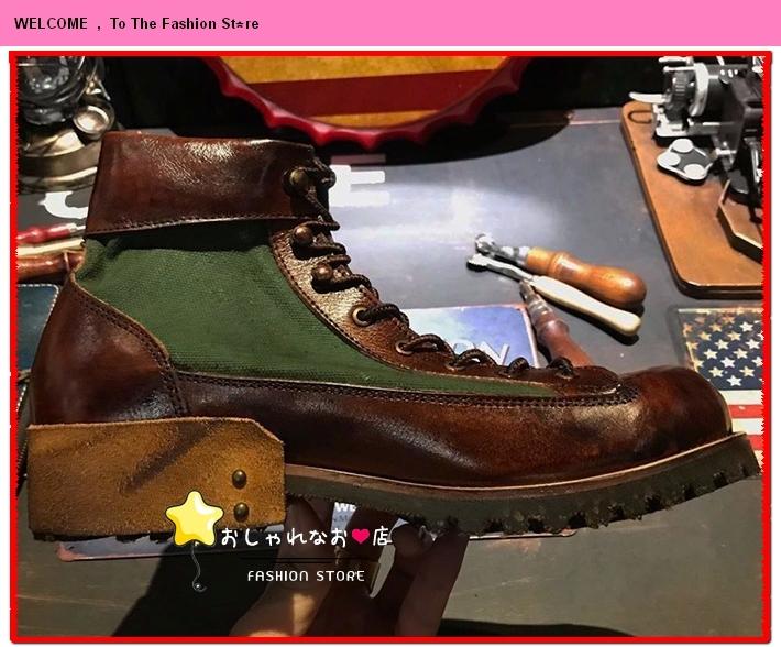 高級感満載!!!純手工細作★上層牛革ブーツ ブーティ マーチンブーツ ロング ブーツ レザーブーツ メンズシューズ サイズ選択可Q98_画像2