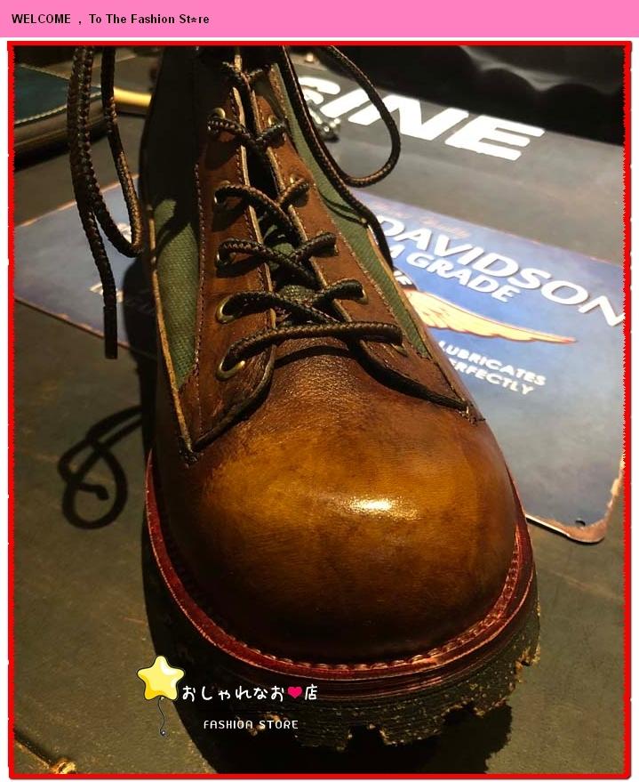 高級感満載!!!純手工細作★上層牛革ブーツ ブーティ マーチンブーツ ロング ブーツ レザーブーツ メンズシューズ サイズ選択可Q98_画像10