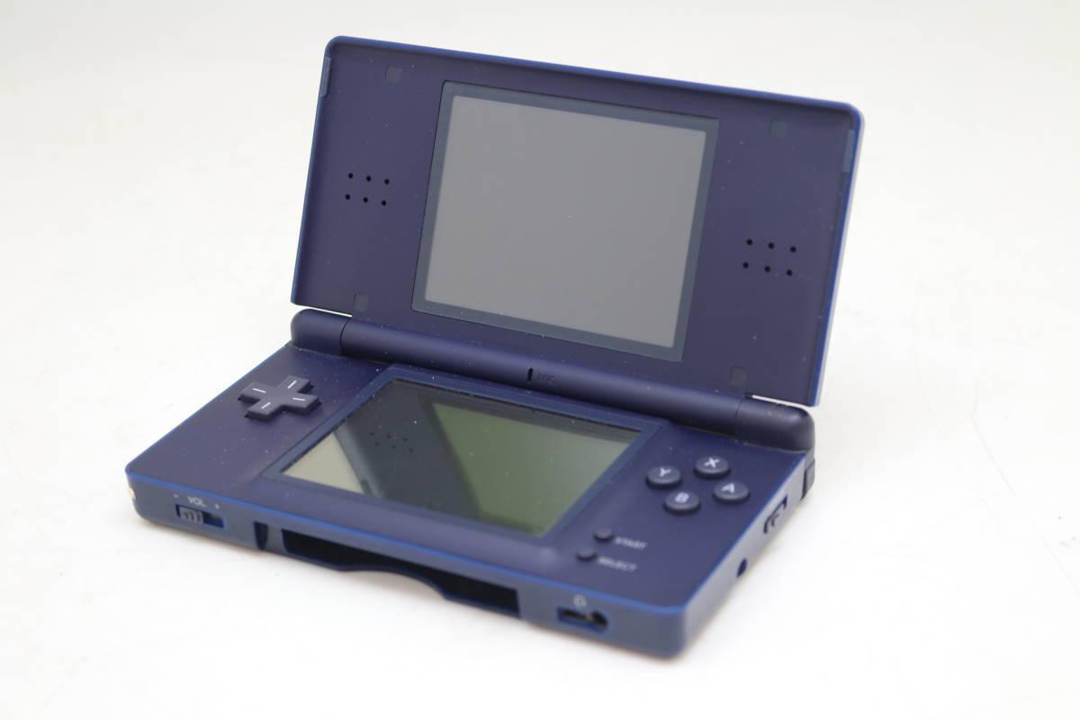 【1円~】【送料無料】【動作品】 Nintendo/任天堂 USG-001 DS Lite ゲーム機 ライト ネイビー