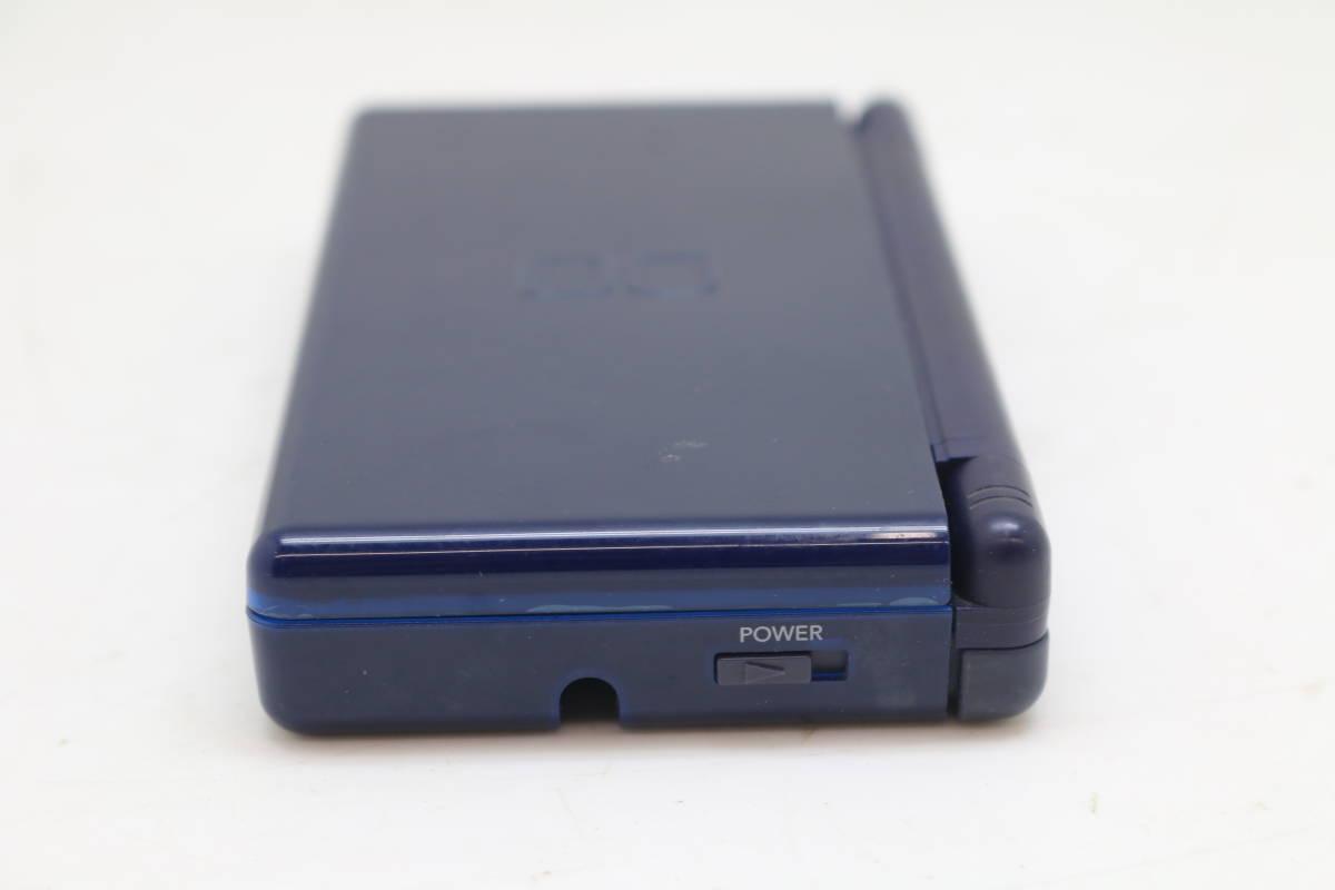 【1円~】【送料無料】【動作品】 Nintendo/任天堂 USG-001 DS Lite ゲーム機 ライト ネイビー_画像8