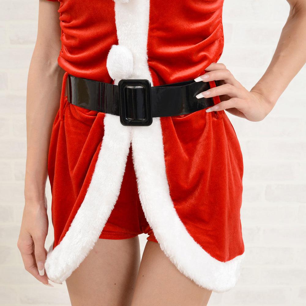 【クリスマス】 セクシーサンタさん 【コスプレ】 4点セット サンタコスチューム 衣装 パーティー/キャバドレス チャムドレス_画像7