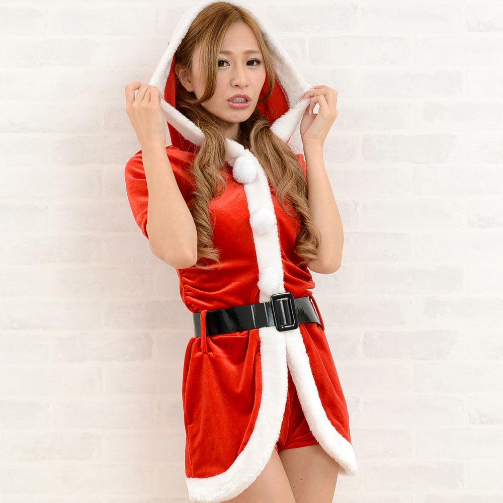 【クリスマス】 セクシーサンタさん 【コスプレ】 4点セット サンタコスチューム 衣装 パーティー/キャバドレス チャムドレス_画像5