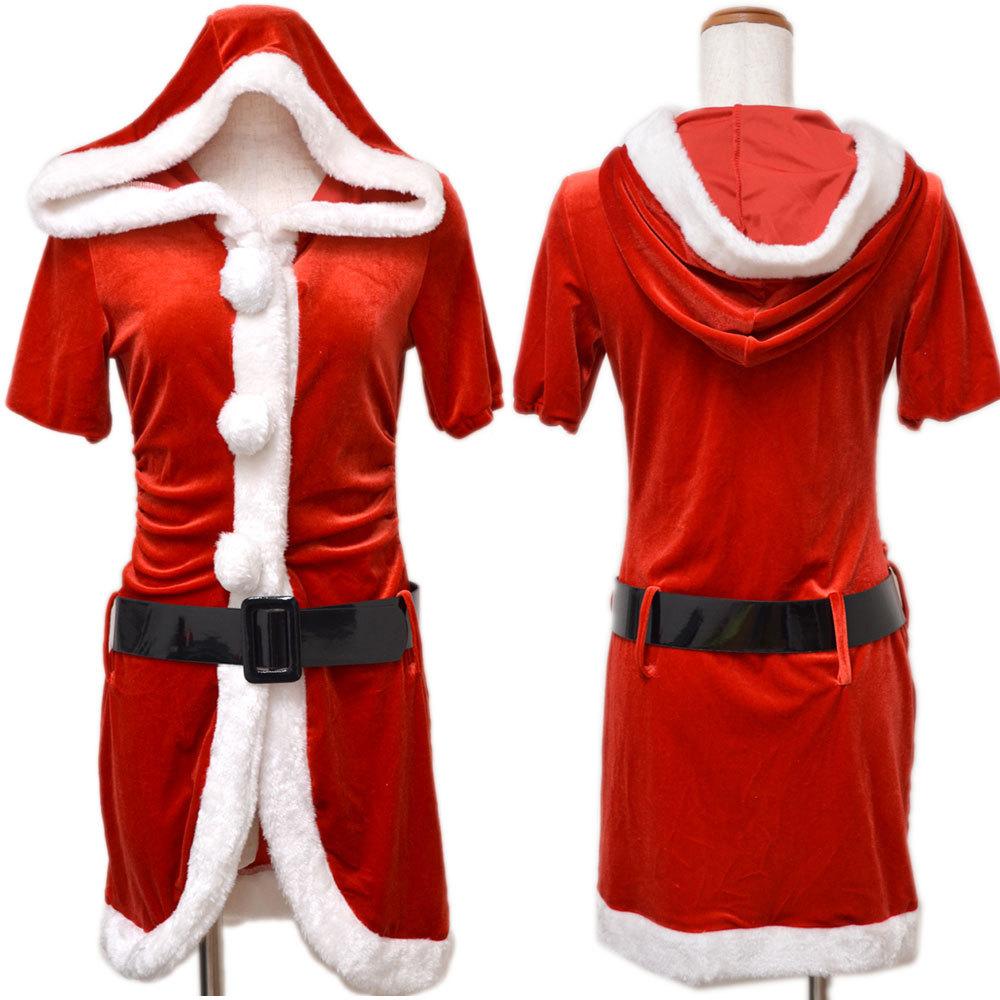 【クリスマス】 セクシーサンタさん 【コスプレ】 4点セット サンタコスチューム 衣装 パーティー/キャバドレス チャムドレス_画像9