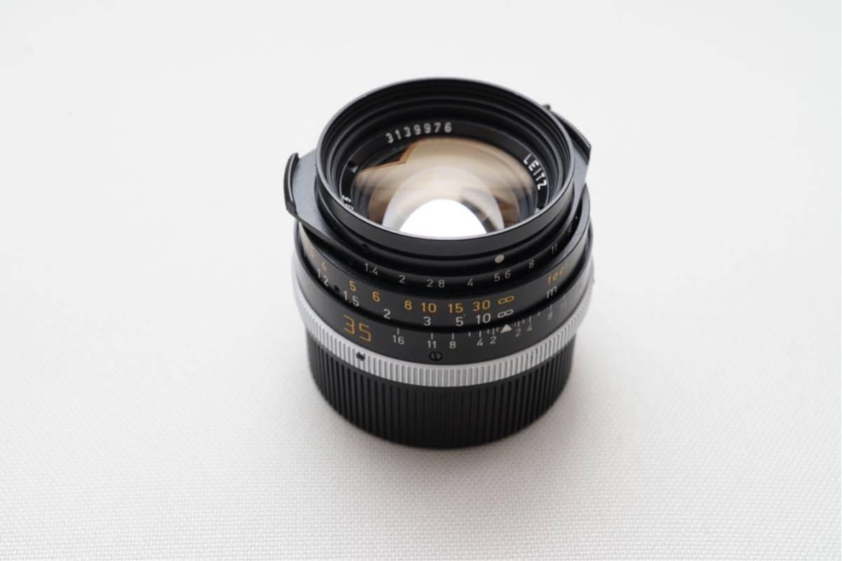 ライカ ズミルックス 35mm f1.4 leica summilux 12504