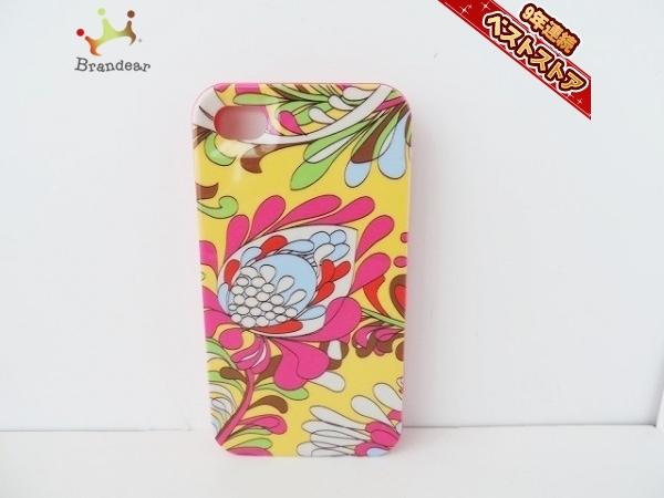 ケイトスペード Kate spade 財布 携帯電話ケース プラスチック ピンク×マルチ 花柄/iPhone4ケース