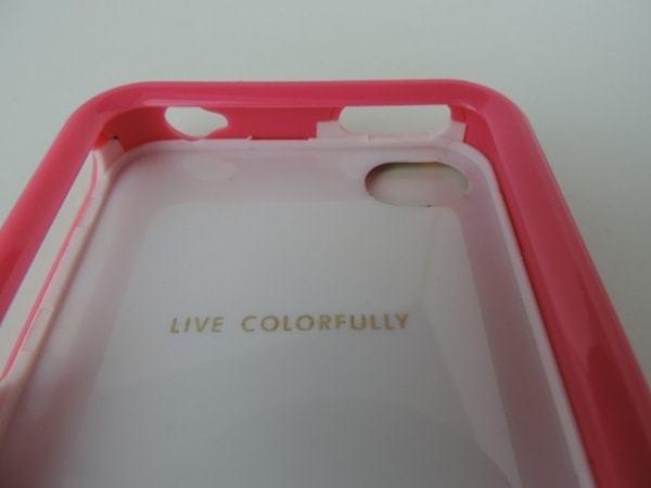 ケイトスペード Kate spade 財布 携帯電話ケース プラスチック ピンク×マルチ 花柄/iPhone4ケース_画像5