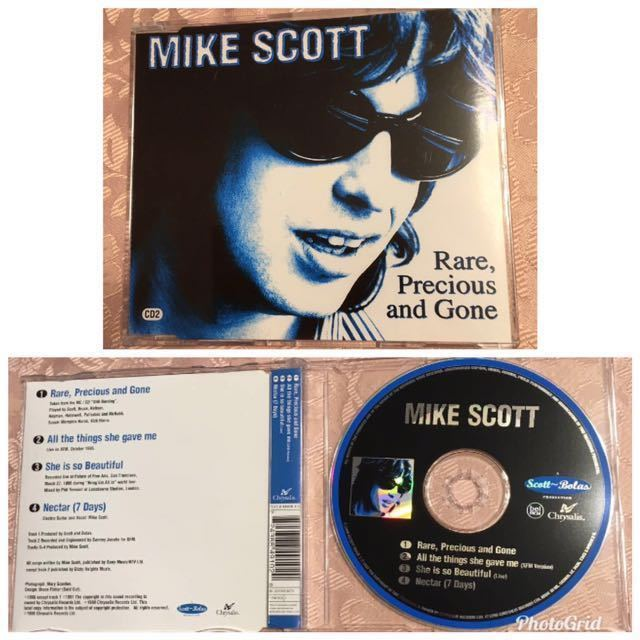■■■CD ウォーターボーイズ関連 マイク・スコット Mike Scott (CD2) Rare, Precious And Gone ■■■