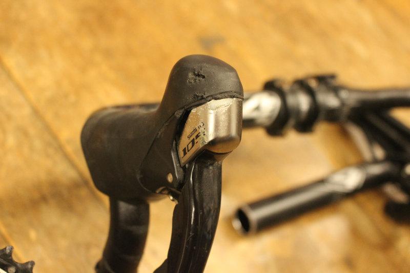 shimano 5700系 コンポセット 105 チェーン、ペダルその他付属品 _画像2