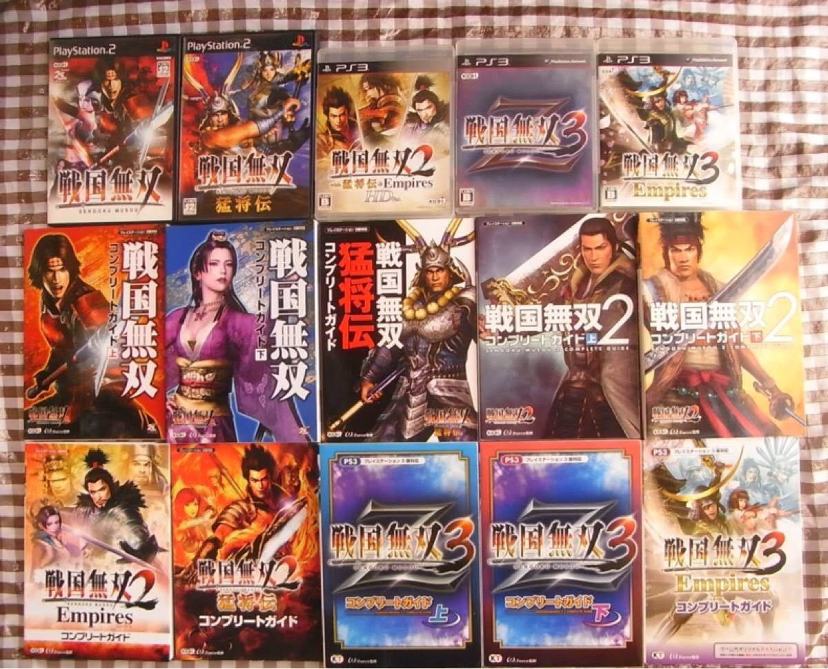 PS2 PS3 戦国無双 2 3Z with 猛将伝 & Empires HD