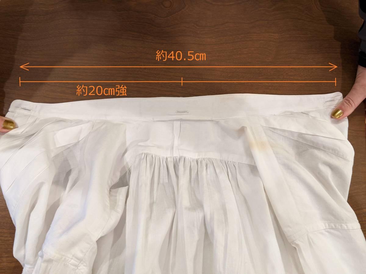フランスアンティーク00's10's20's襞胸ドレスシャツ/ヴィンテージ30'sフォーマルタキシード燕尾服ヨーロッパフレンチ古着ΓMT_画像5
