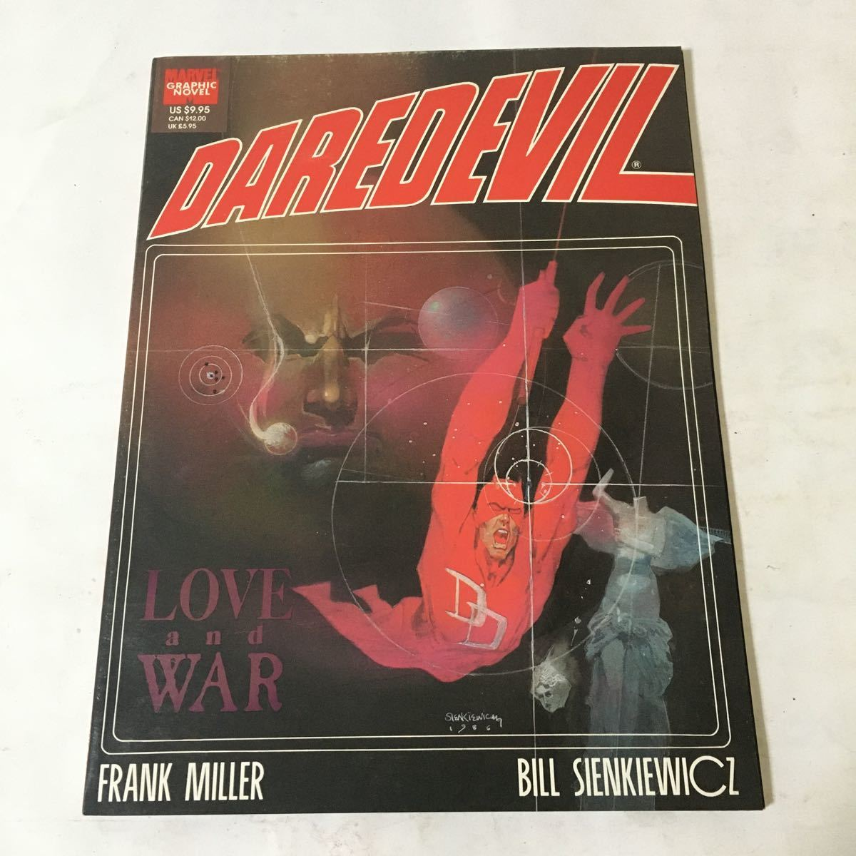 Daredevil: Love and War / Frank Miller Marvel Enterprises 1990年_画像1