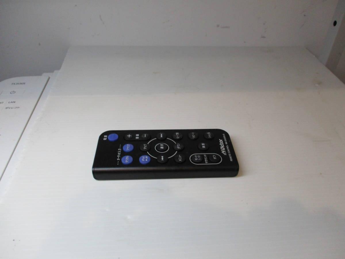 ビクター スピーカーシステムリモコン RM-SXSSR3-B (XS-SR3-B、XS-SR3-P用リモコン)_画像1