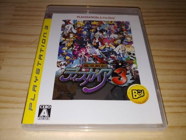 ★送料無料・PS3ソフト★魔界戦記ディスガイア3 PLAYSTATION 3 the Best