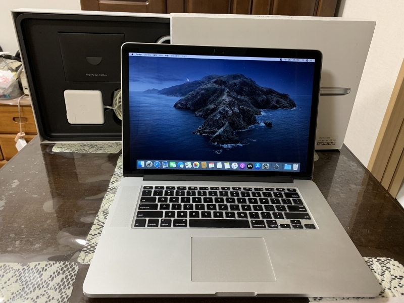 レア 美品 Apple MacBook Pro Retina A1398 Mid 2015 Core i7 2.8GHz/15インチ/AMD Radeo