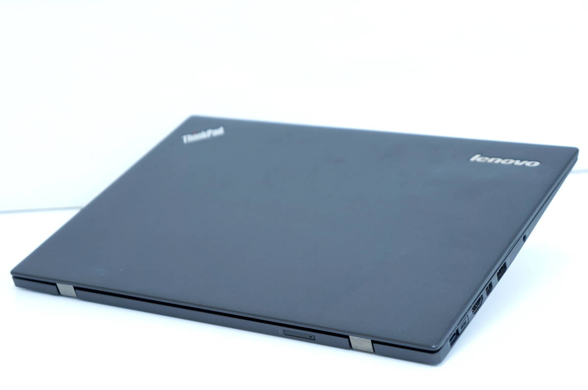 【即配】第5世代Corei5搭載薄ボディモバイル!X1 Carbon i5-5300U 14型FHD液晶!! 8GB SSD128G BL-KB Office Win10 _画像3