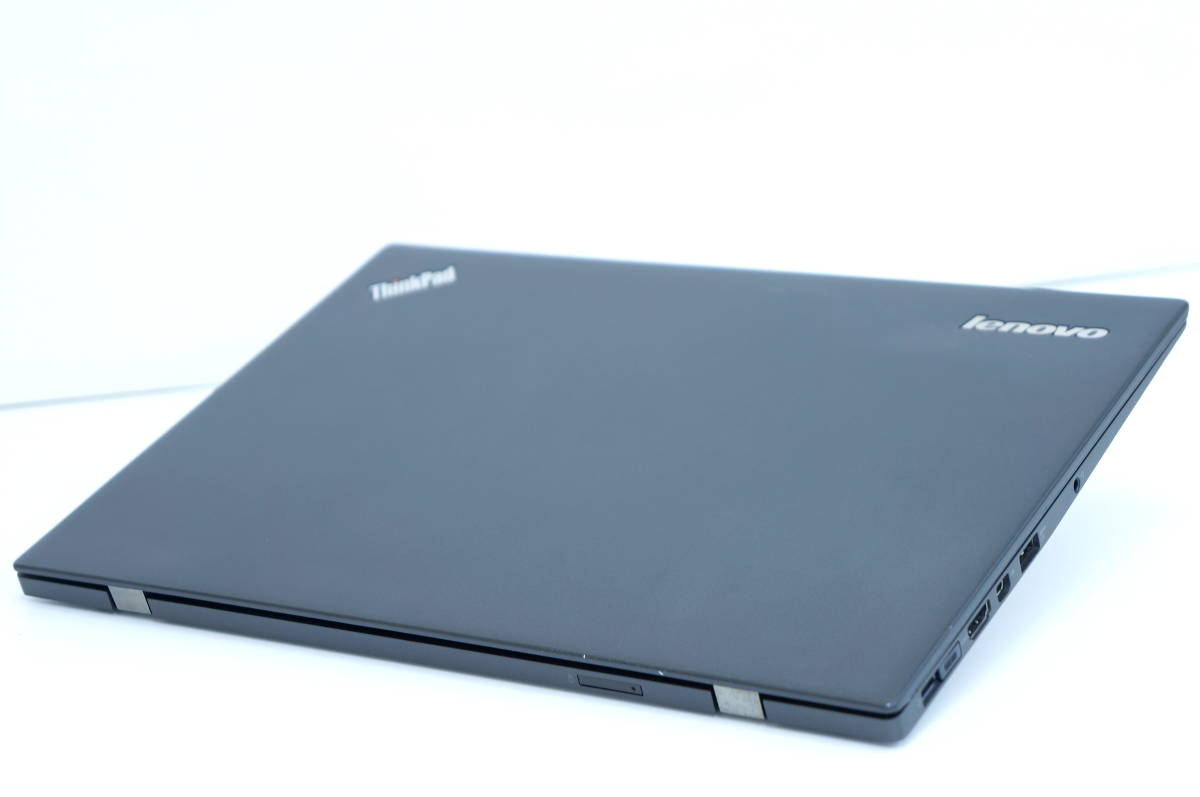 【即配】第5世代Corei5搭載薄ボディモバイル!! X1 Carbon i5-5300U 14型FHD液晶! 8G SSD128G BL-KB Office Win10 _画像3