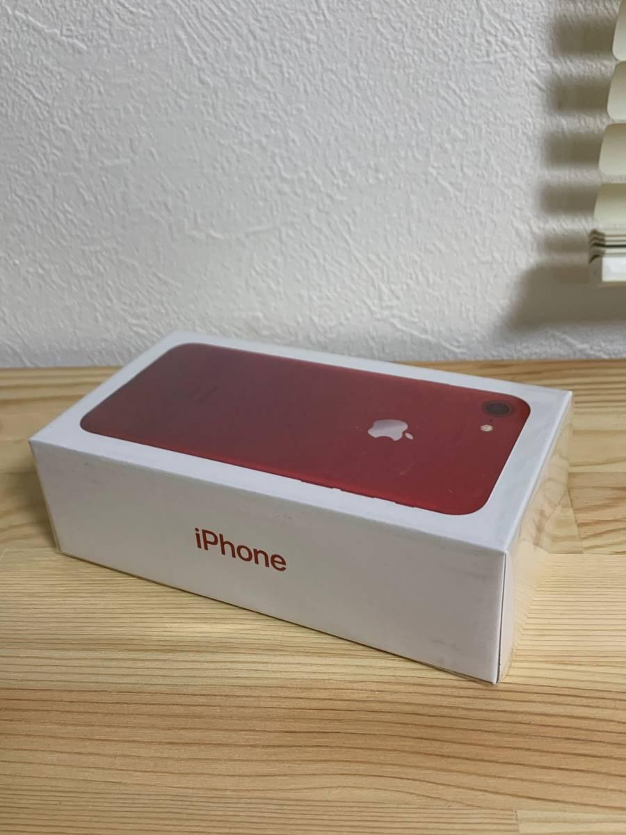 新品未使用 未開封 海外SIMフリー Apple iPhone7 128GB レッド カメラシャッター音なし_画像2