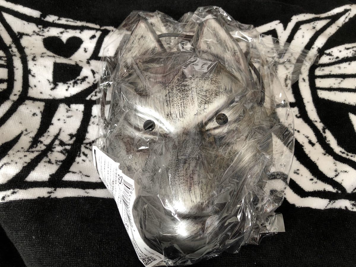 BABYMETAL FOX MASK SILVER 銀 キツネお面 新品 METAL GALAXY WORLD TOUR in JAPAN グッズ 大阪 検索用) Tシャツ CD DVD Blu-ray THE ONE