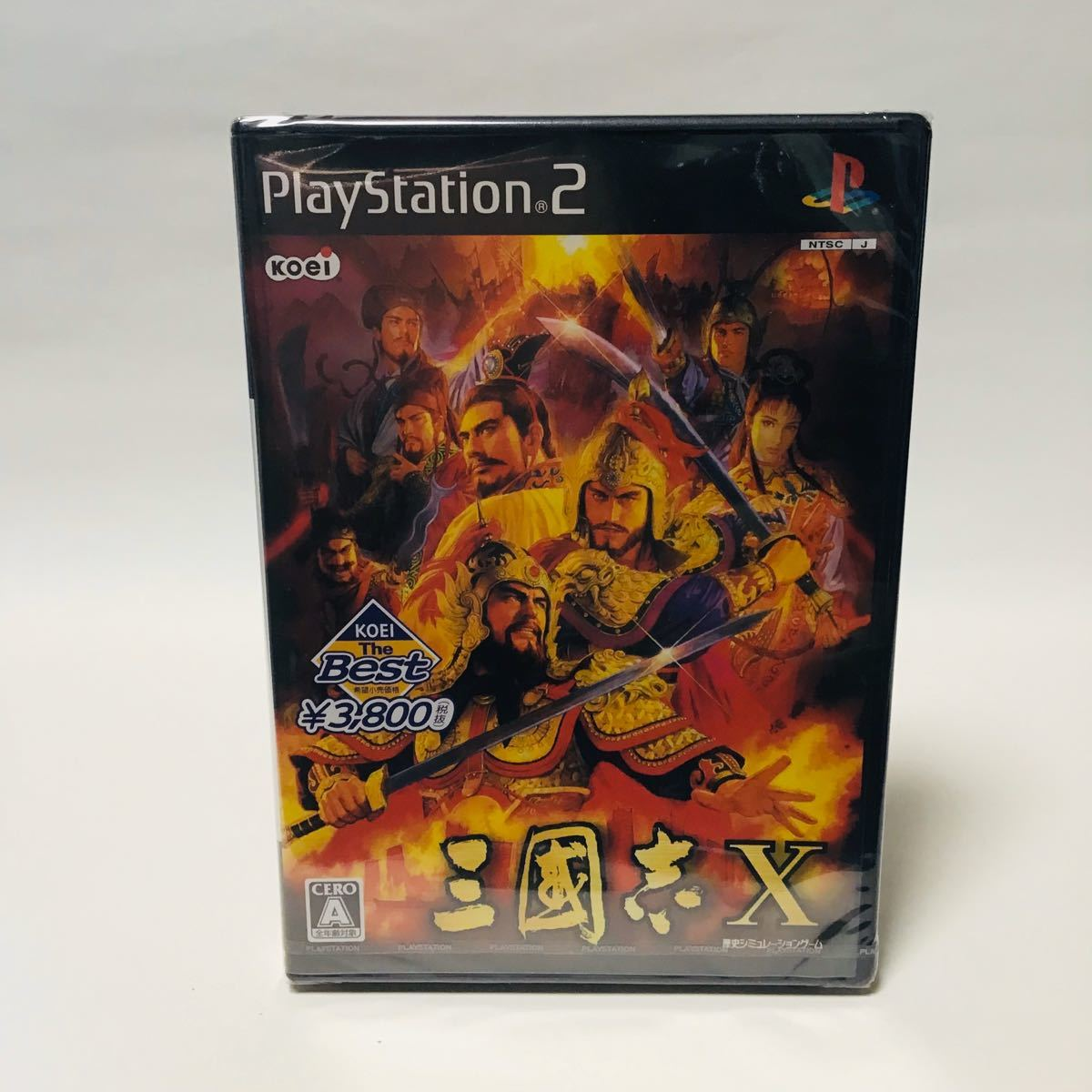 KOEI The Best 三國志X - PS2