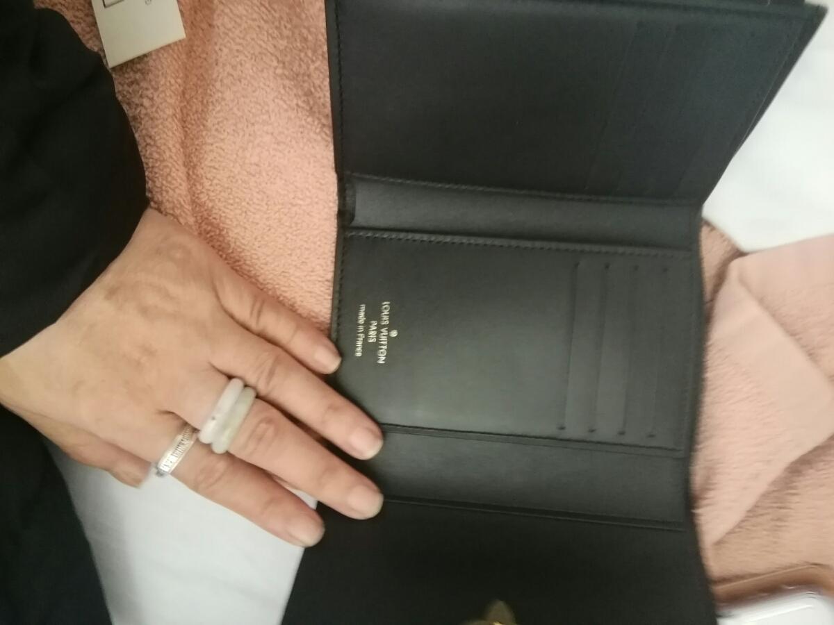 ルイヴィトンショップ購入正規品財布_画像4