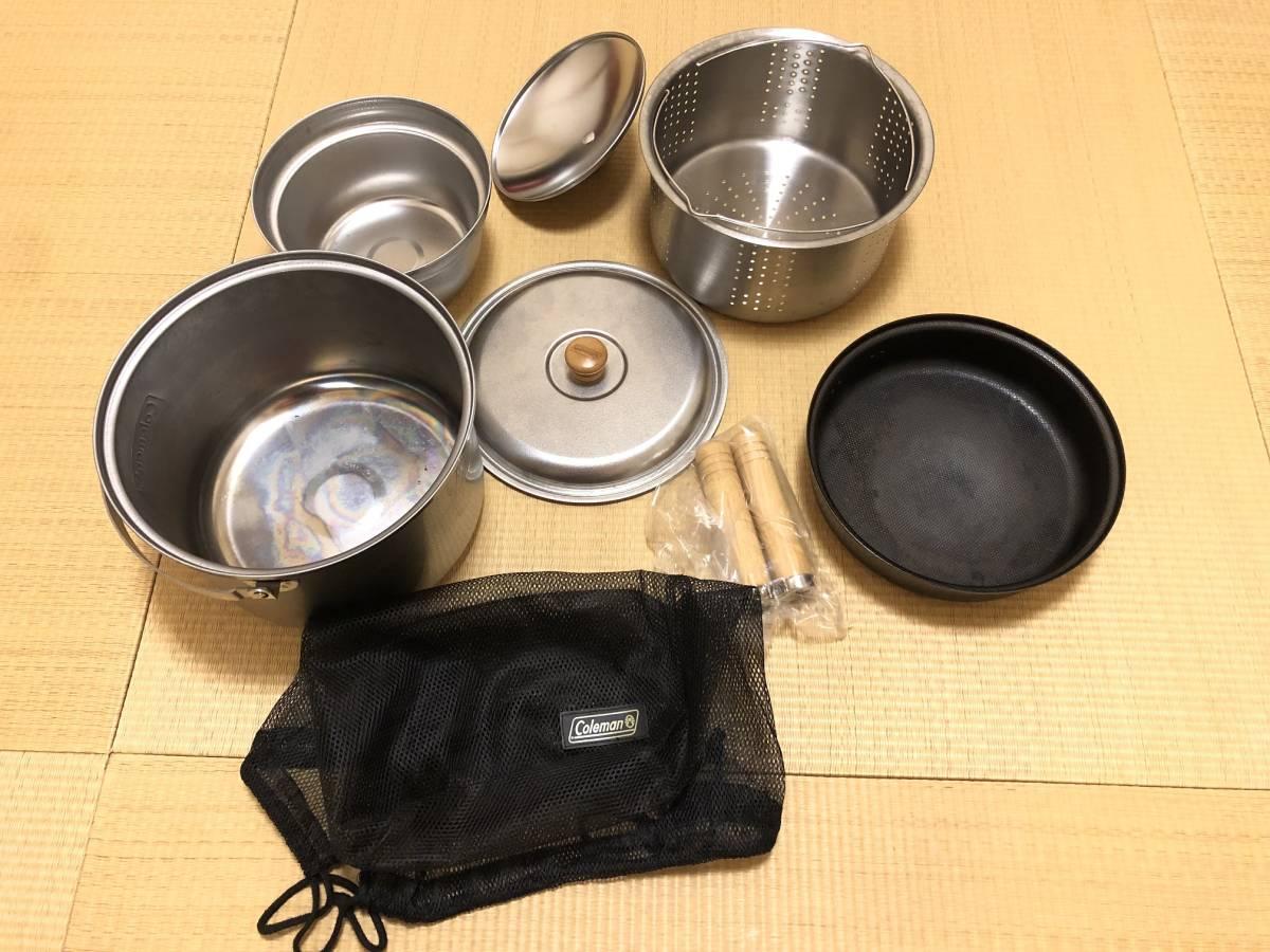 コールマン エンボスクッカーセット(L) Emboss Cooker Set(L)