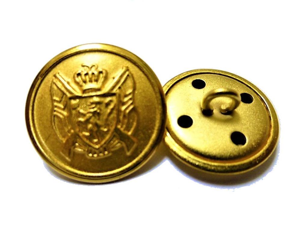 送料無料 手芸 素材 ジャケット用 約20mm 4個 約15mm 8個 艶消し ゴ-ルド色系 家紋調 金属 ボタン 12個入り jk072