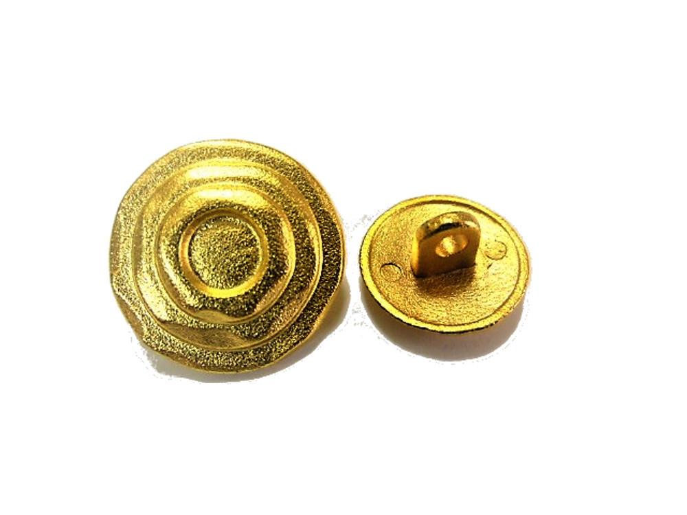 送料無料 手芸 素材 ジャケット用 約20mm 4個 約15mm 8個 ゴ-ルド色系 メタル 金属 ボタン 12個入り jk092