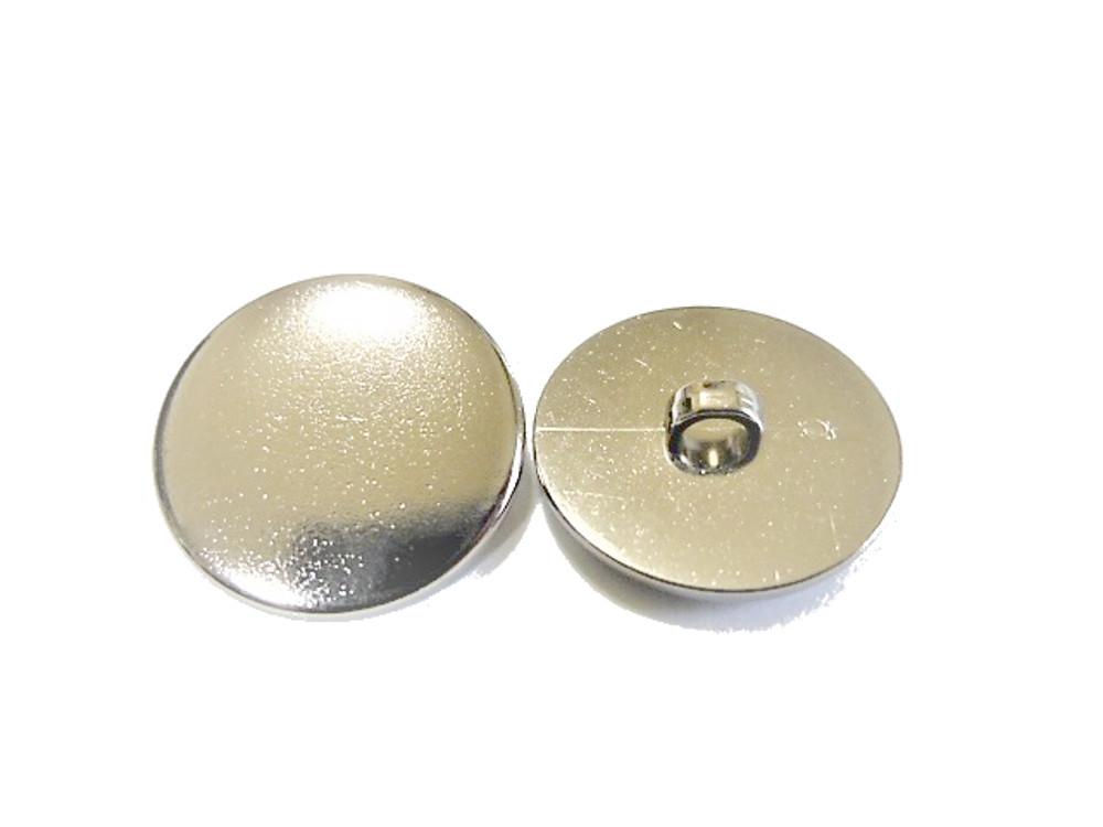 送料無料 手芸 素材 ジャケット用 約20mm 4個 約15mm 8個 シルバ-色 プレ-ン メタル ABS ボタン 12個入り jk097-1