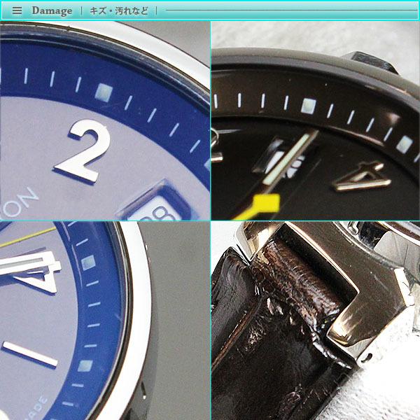 Louis Vuitton ルイヴィトン タンブール レディース腕時計 クォーツ Q1211 ブラウン文字盤×シルバー レディース アンティーク_画像5