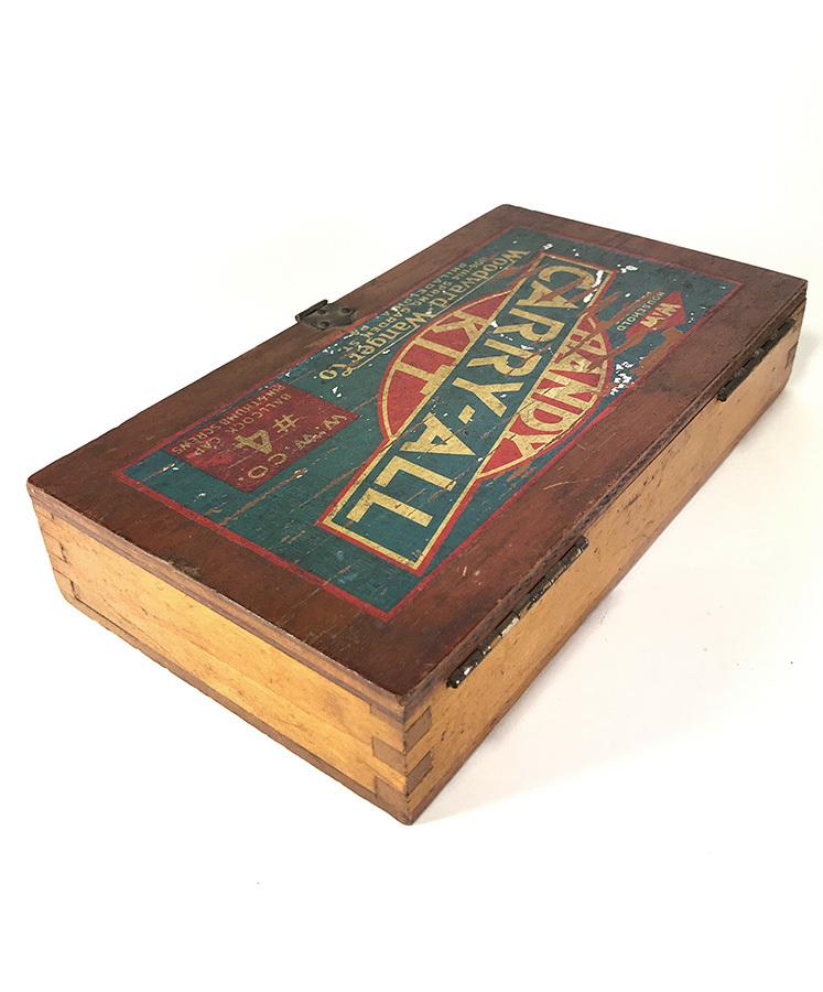 1930's アドバタイジング 木製 小物入れ/パーツ/ボックス/USA/収納/ハンガー/店舗什器/ハンガー/o.c.white/ランプ/照明/ハーレー/ボバー_画像9