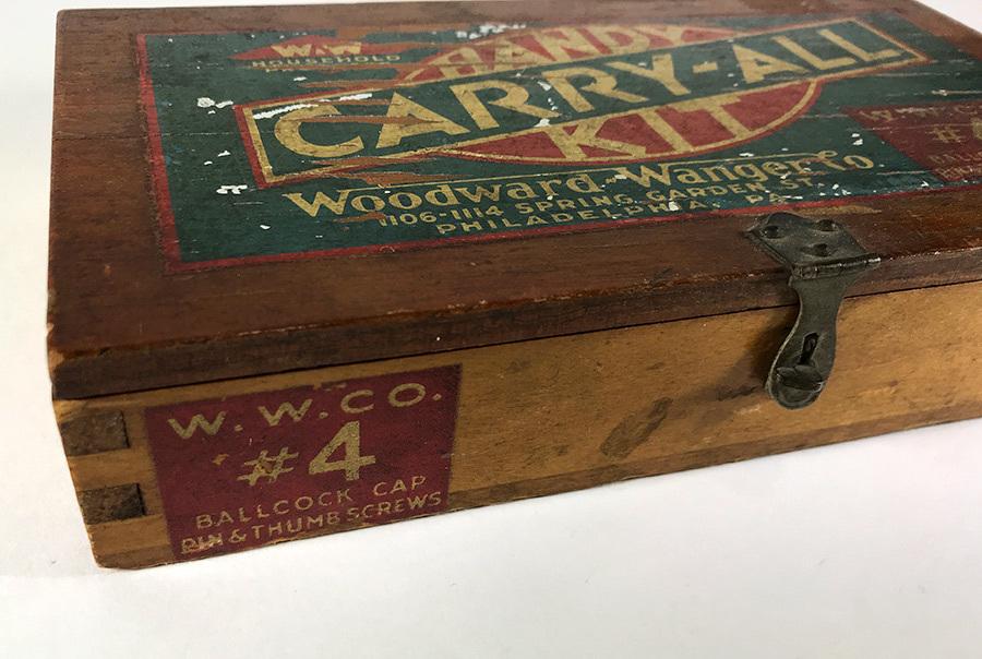1930's アドバタイジング 木製 小物入れ/パーツ/ボックス/USA/収納/ハンガー/店舗什器/ハンガー/o.c.white/ランプ/照明/ハーレー/ボバー_画像4