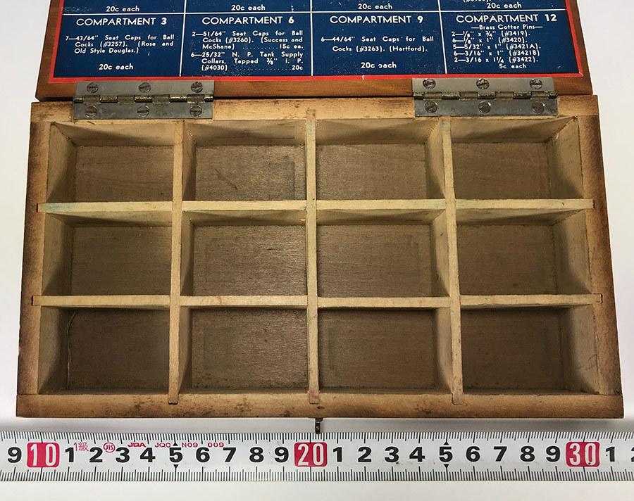 1930's アドバタイジング 木製 小物入れ/パーツ/ボックス/USA/収納/ハンガー/店舗什器/ハンガー/o.c.white/ランプ/照明/ハーレー/ボバー_画像8