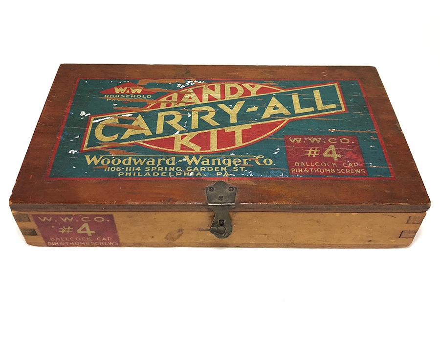 1930's アドバタイジング 木製 小物入れ/パーツ/ボックス/USA/収納/ハンガー/店舗什器/ハンガー/o.c.white/ランプ/照明/ハーレー/ボバー_画像1